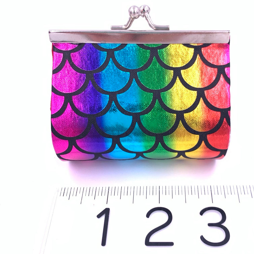 Rainbow Mermaid Coin Purse