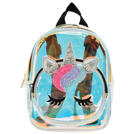 Unicorn Iridescent Mini Backpack