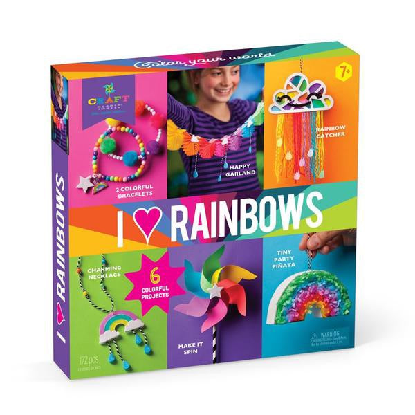 I Love Rainbows Kit Craft-tastic DIY Kit