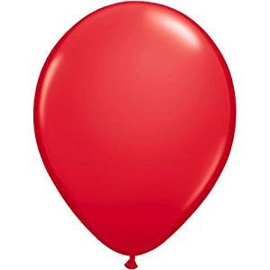 Red 11in Latex Balloon