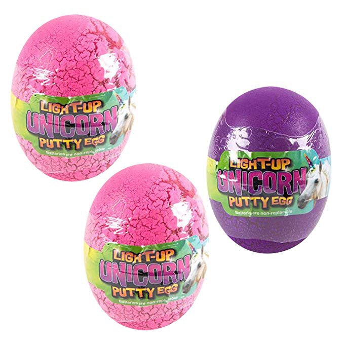 Unicorn Putty Egg misc colors
