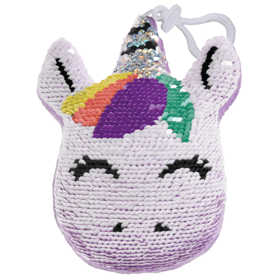 Unicorn Reversible Flip Sequin Squishem