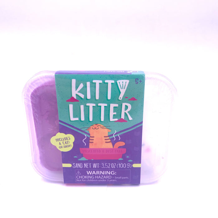 Kitty Litter Squishy and putty sand set