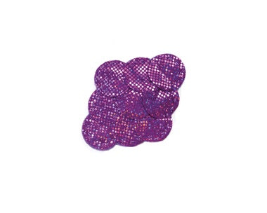 Purple Mermaid Hair Clip by Brooklyn Owl