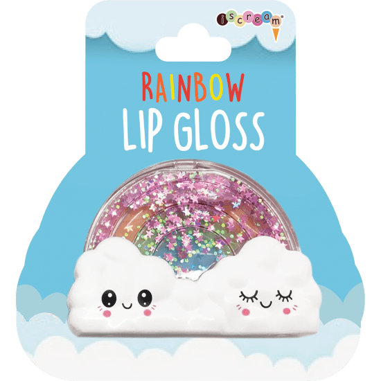 Rainbow Lip Gloss- Strawberry Flavor