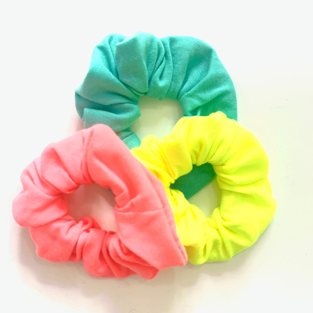 Neon Scrunchies 3 pack