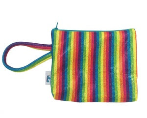 Rainbow Sparkle Clutch Purse by Brooklyn Owl