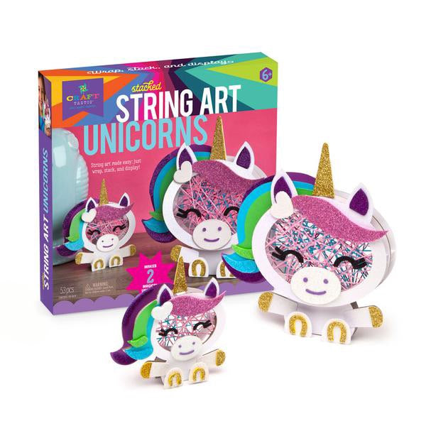 Unicorn Stacked String Art Craft-tastic DIY Kit
