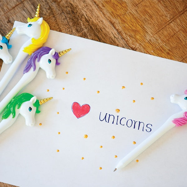 Magical Unicorn pen by Jack rabbit creations