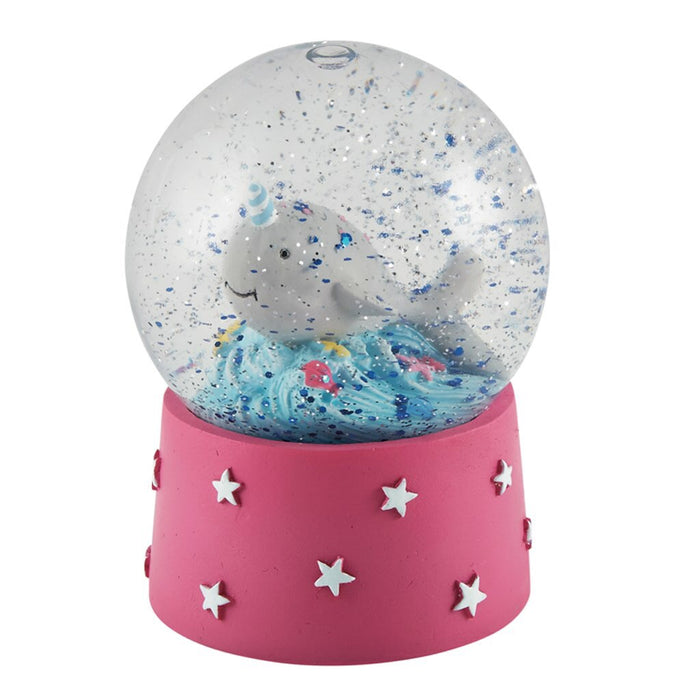 Narwhal Shatterproof Mini Snow Globe Waterball