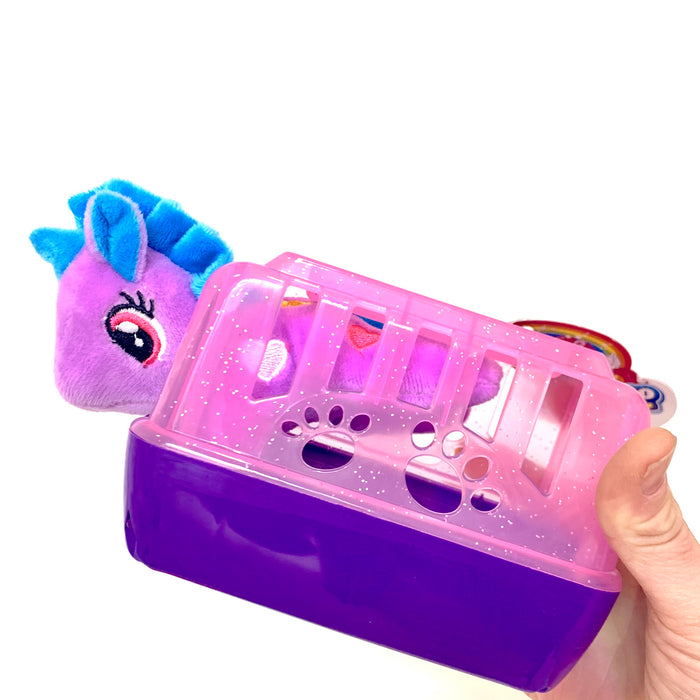 Unicorn Plush with Carrying Case TOY