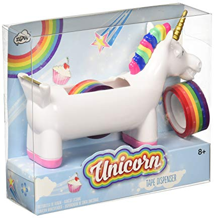 Rainbow Unicorn Tape Dispenser by NPW