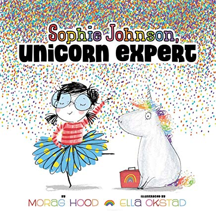 Sophie Johnson Unicorn Expert Hard Cover Book