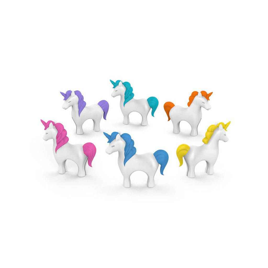 Tiny Prancers Unicorn Drink Charms