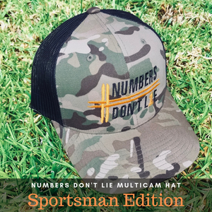 Camo Special Edition Numbers Don't Lie Hat