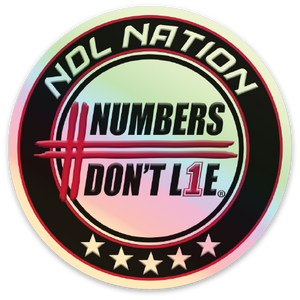 NDL Nation Holographic Stickers - FREE SHIPPING
