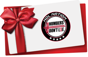 Numbers Don't Lie Gift Card