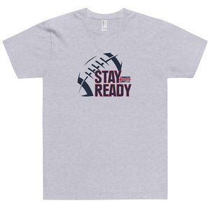 Stay Ready Adult NDL Football T-Shirt - FREE SHIPPING