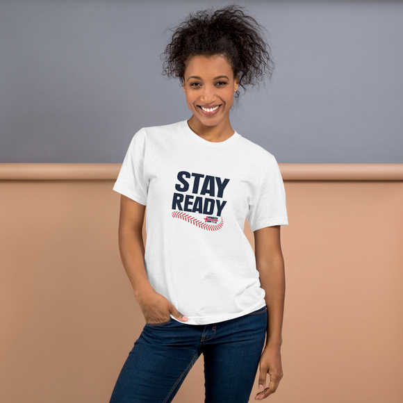 Stay Ready Adult NDL Baseball T-Shirt - FREE SHIPPING