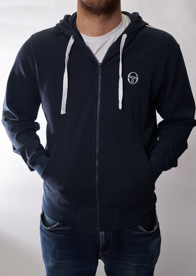 "Zipper Sergio Tacchini ""New Elbow"" navy/white"