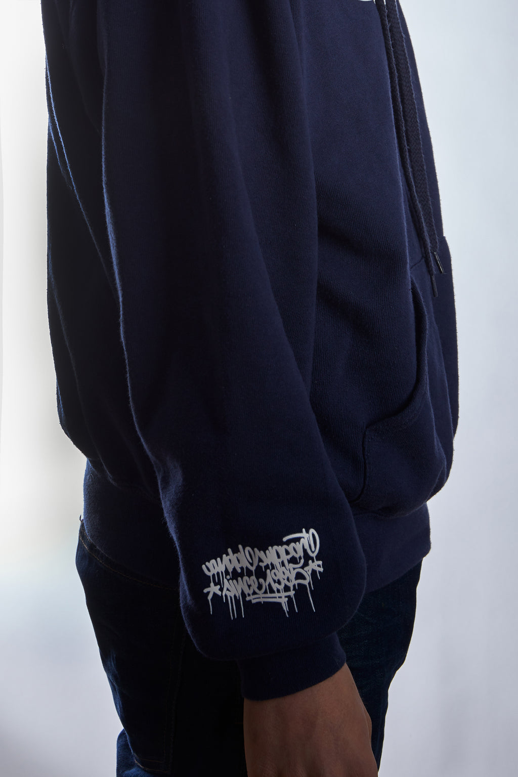 "Hoodie Sixpack ""Classic"" navy"