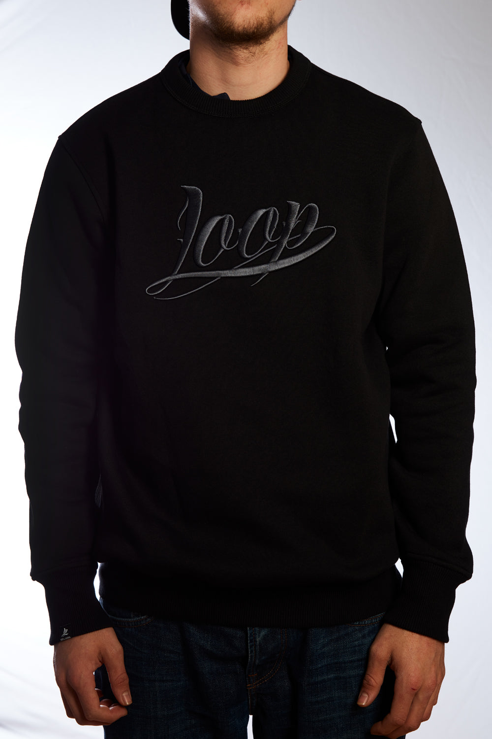 "Sweater ""Loop"" Black"