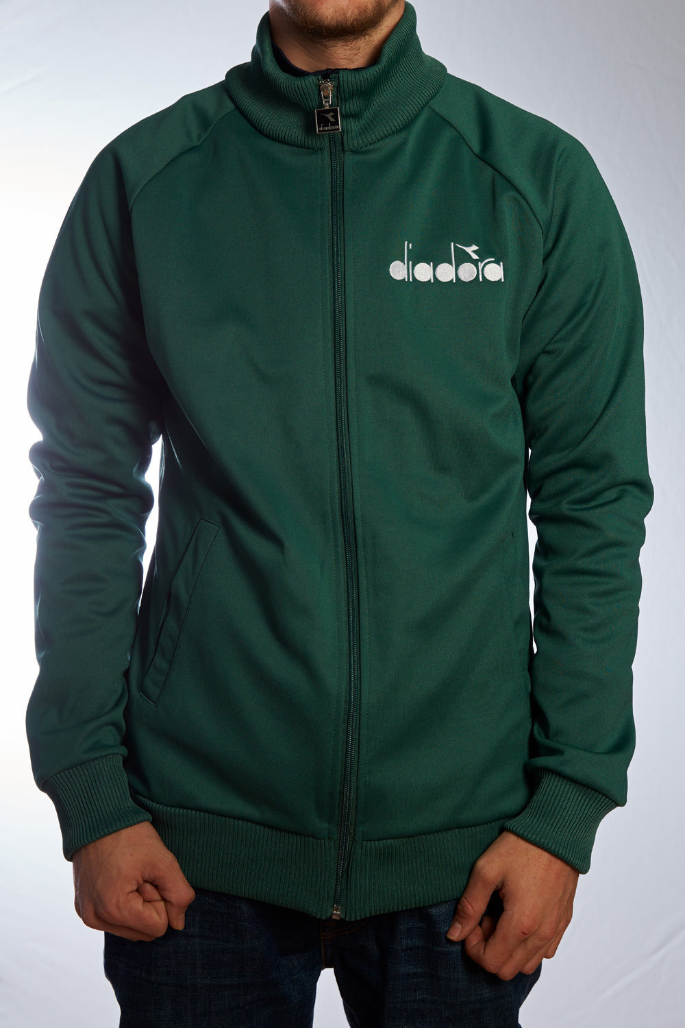 "Track Top ""Diadora"" green"