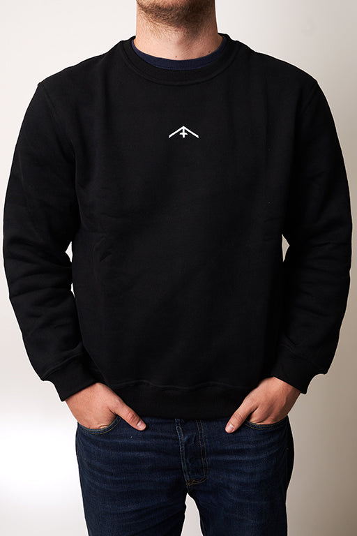 "Sweatshirt Fuchs & Haas ""Clean"" black"
