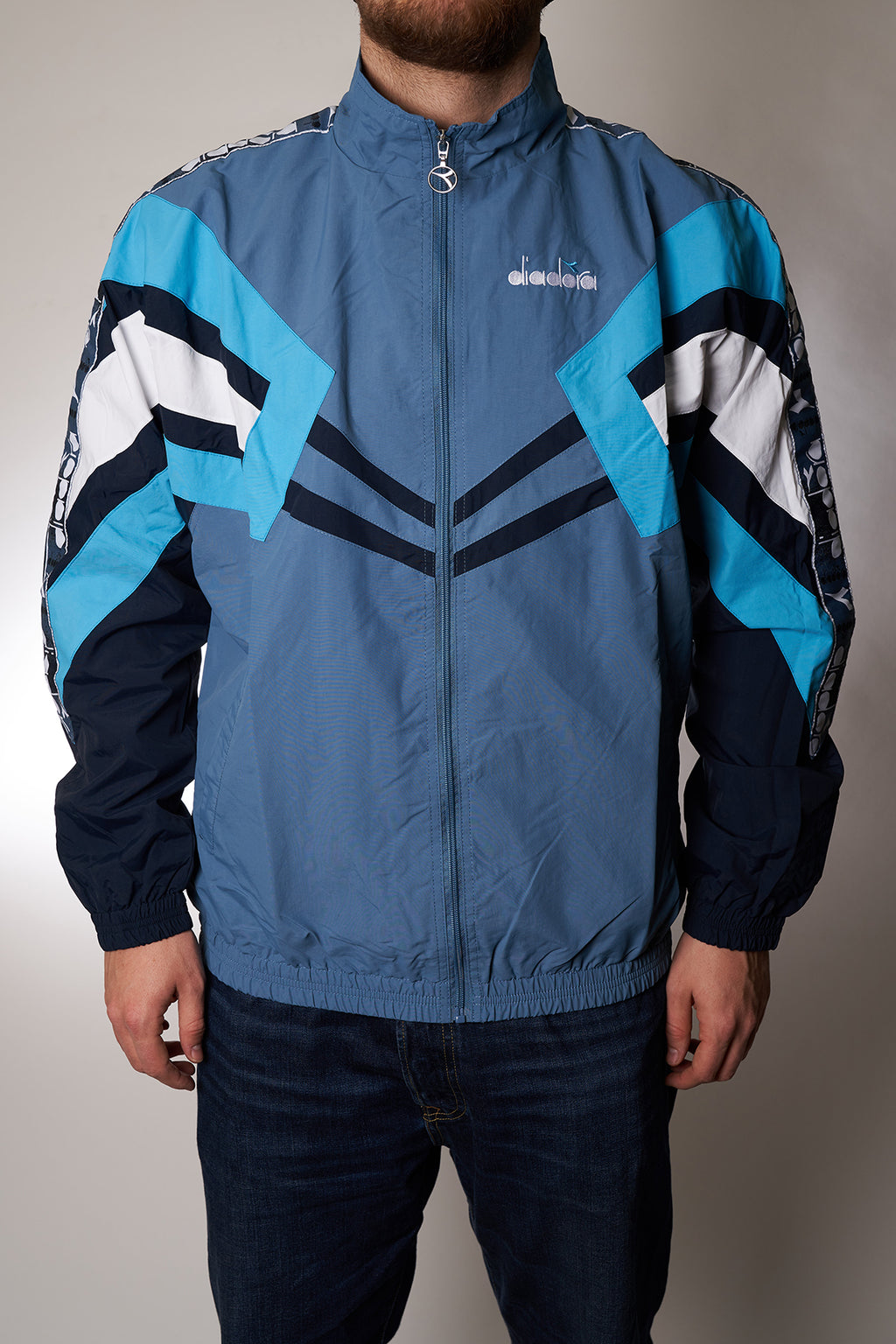 "Track Top Diadora ""Track Jacket MVB"" blue heaven"