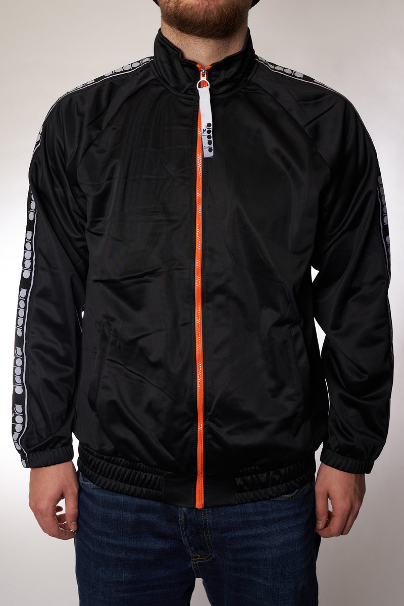 "Track Top Diadora ""Track Jacket Trofeo"" black"