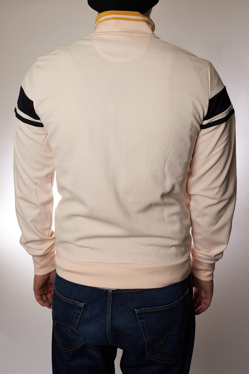 "Track Top Sergio Tacchini ""Damarindo Sweater"" buttercream/black"