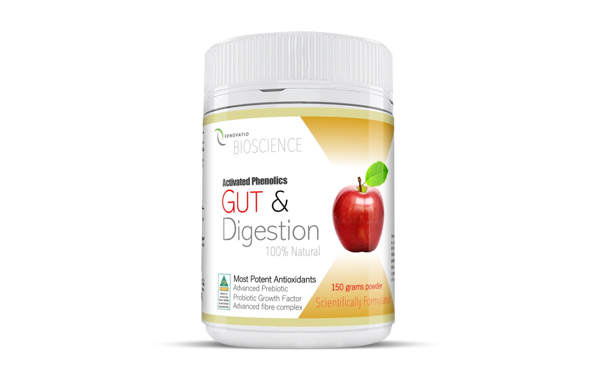 --Activated Phenolics Gut and Digestion with Advanced Prebiotic--