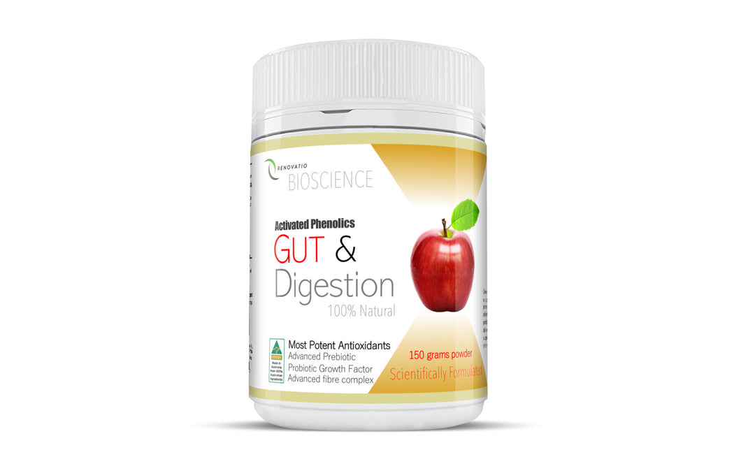 Activated Phenolics Gut and Digestion with Advanced Prebiotic