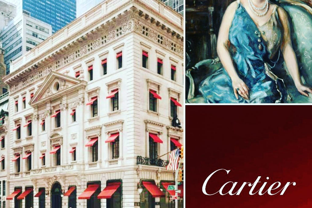 Cartier necklace for the Fifth Avenue building