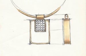 Jewelry sketches - art, passion and heritage