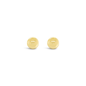 PIN earrings in yellow gold || PIN boucles d'oreilles en or jaune