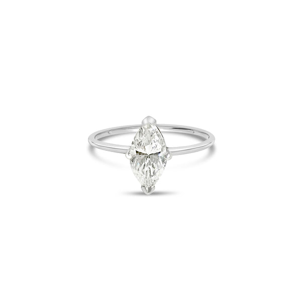 MARQUISE diamond ring || MARQUISE bague diamant
