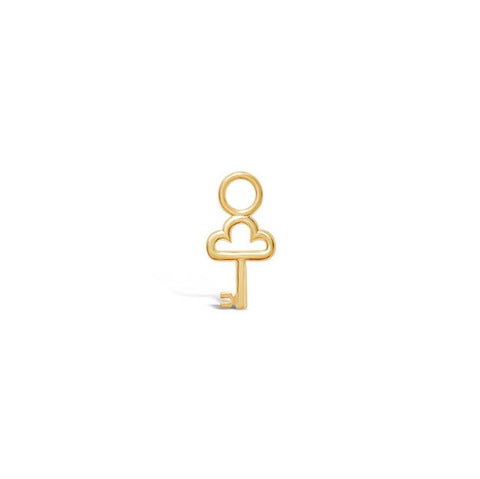 KEY gold charm ||  KEY charm en or