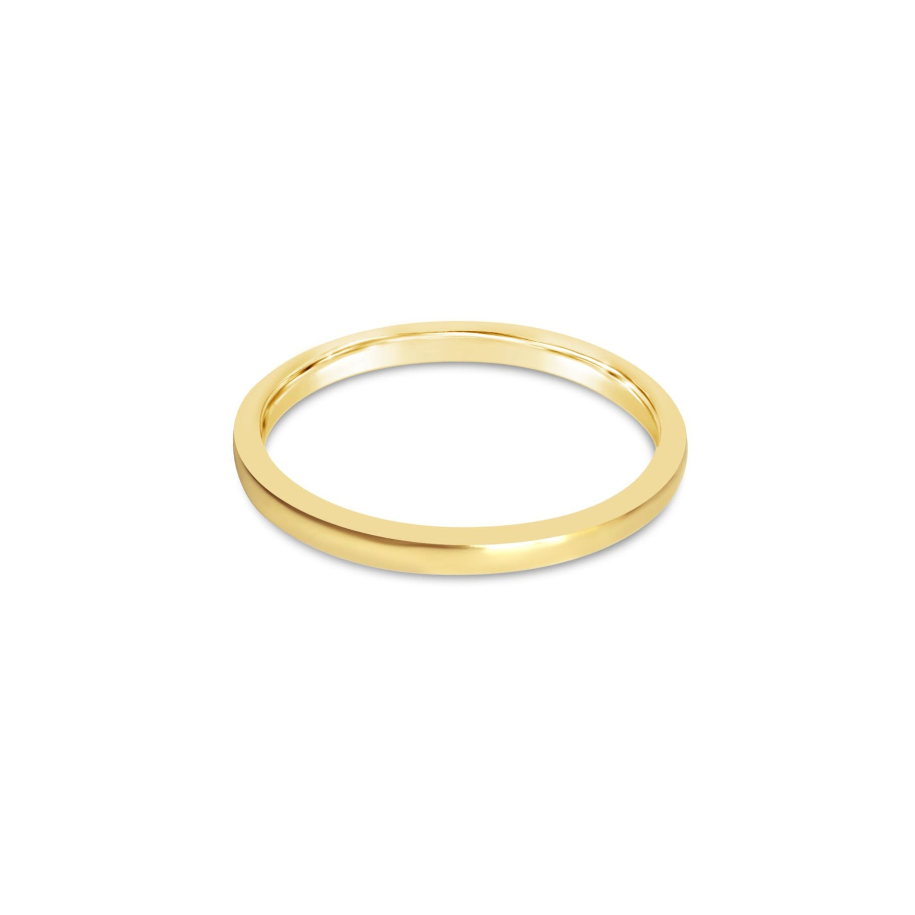 AMOUR delicate gold wedding band ||  AMOUR alliance délicate en or