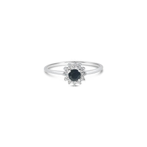 NOIR diamond ring ||  NOIR bague diamant