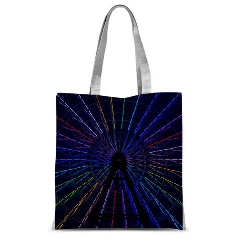 "alloverprint.it Accessories 15""x16.5"" Overall Print Tote Bag - Ferris Wheel"