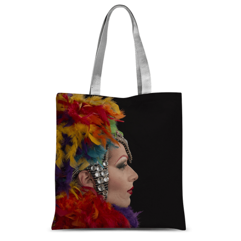 "alloverprint.it Accessories 15""x16.5"" Overall Print Tote Bag - Mardi Gras"