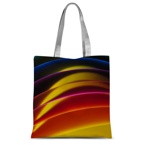 "alloverprint.it Accessories 15""x16.5"" Overall Print Tote Bag - Pride Arc"