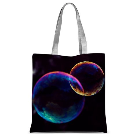 "alloverprint.it Accessories 15""x16.5"" Overall Print Tote Bag - Pride Bubbles"