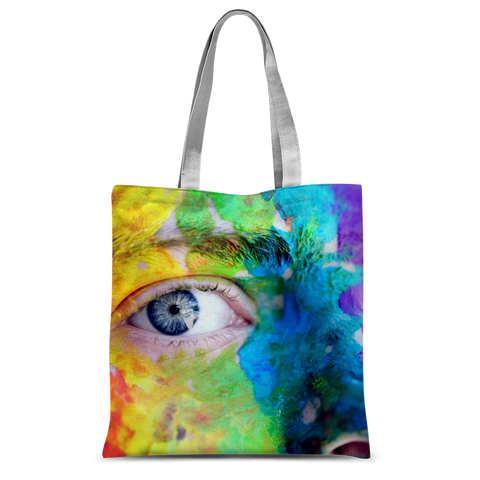 "alloverprint.it Accessories 15""x16.5"" Overall Print Tote Bag - Pride Eyes"