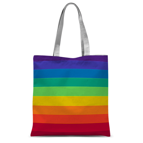 "alloverprint.it Accessories 15""x16.5"" Overall Print Tote Bag - Pride Flag"