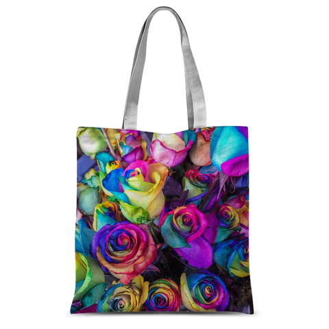 "alloverprint.it Accessories 15""x16.5"" Overall Print Tote Bag - Roses"