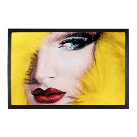 "alloverprint.it Accessories 24""x15"" Overall Print Doormat - Drag Queen"