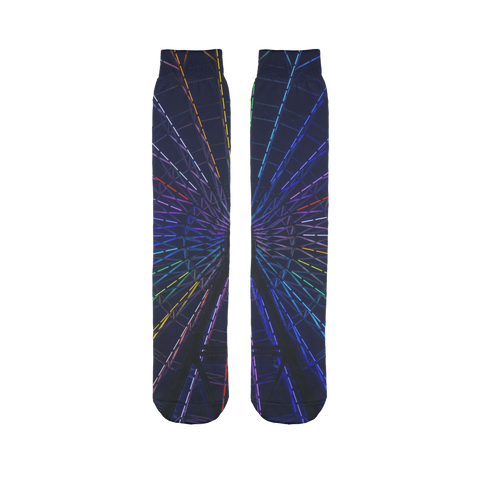 alloverprint.it Accessories 45X10 cm Overall Print Tube Socks - Ferris Weel