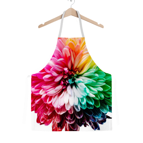 alloverprint.it Apparel One Size Overall Print Apron - Dahlia